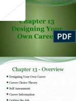 Chapter 13 -. Designing Your Own Career
