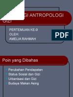 Sosiologi Antropologi Gizi