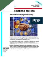 Beta vs Margin of Safety