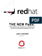 Redhat Openshift Bootcamp Lab 1