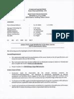 Minutes of Pre-Bid Meeting & Scope of Work-