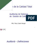 Auditorias de Sistemas de Gestion de Calidad
