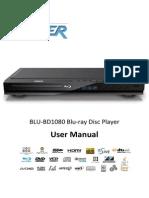 LASER BLU-BD1080 Blu-ray Disc Player User Manual (English)