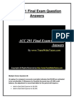 ACC 291 UOP New Final Exam Answers