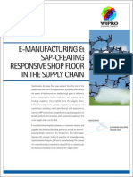eManufacturing with SAP