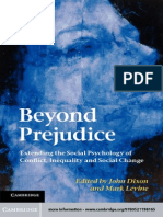 John Dixon, Mark Levine-Beyond Prejudice_ Extending the Social Psychology of Conflict, Inequality and Social Change-Cambridge University Press (2012)