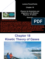 Kinetic Theory Ch18