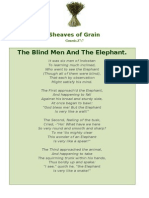 The Blind Men And The Elephant - Sheaves of Grain - 4