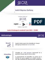 Sondage Odoxa. Le match Bayrou-Sarkozy
