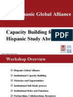 Study Abroad Capacity Building