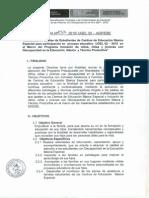 Directiva 033 Familias asistidas en CEBE