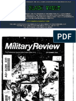 Military Review, September 1994. Volume 74, Number 9