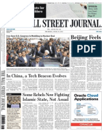 The Wall Street Journal Asia 16 April 2015