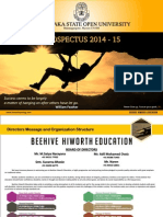 Beehive Education Academy Prospectus 2014-15. Bangalore