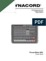 Manual PowerMate-600 2