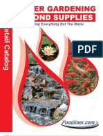 Pond Liner - 2010 Pond Supplies Catalog