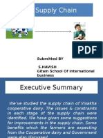 Milk Supply Chain - Visakha Dairy