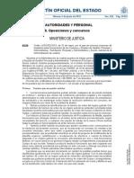 Cuerpos y escala de Gestión Procesal y administrativa