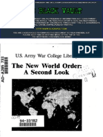 The New World Order a Second Look. a Selected Bibliography.