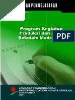 4. Program Kegiatan Produksi Dan Jasa