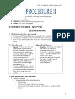Civil Procedure II - Smith - Spring 2003-2-3