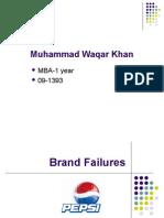 Pepsi Brand Failure
