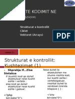 PHP - 2013 - L3.1 - Baza Te Kodimit Ne PHP(Vazhdim)