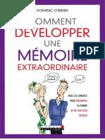Comment Developper Une Memoire Extraordinaire