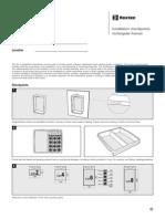 ASS2011004301 RectangularFrame Installation Checkpoints