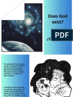 ¿Existe Dios? - Does God Exist?