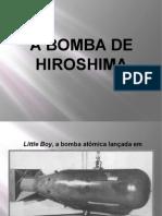 A Bomba de Hiroshima