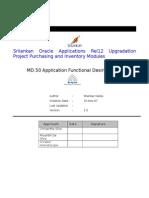 MD050 Alert for Supplier Credit Limit