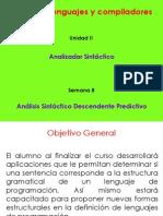 Analisis Sintactico Predictivo