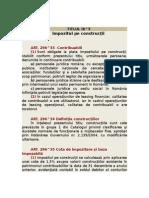 IMPOZIT CONSTRUCTII - TITLUL IX.doc