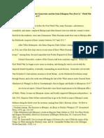 Feodor Konovalov and the Italo-ethiopian War Part i