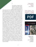Venancio Andreu Baldó, Reseña Sobre Comunismo Hermenéutico de G. Vattimo y S. Zabala