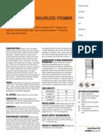Groen SSB-5E/EF Steamer