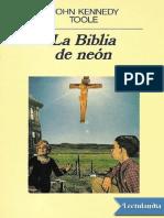 La Biblia de Neon - John Kennedy Toole