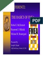 Basics of Fmea(Asq 304