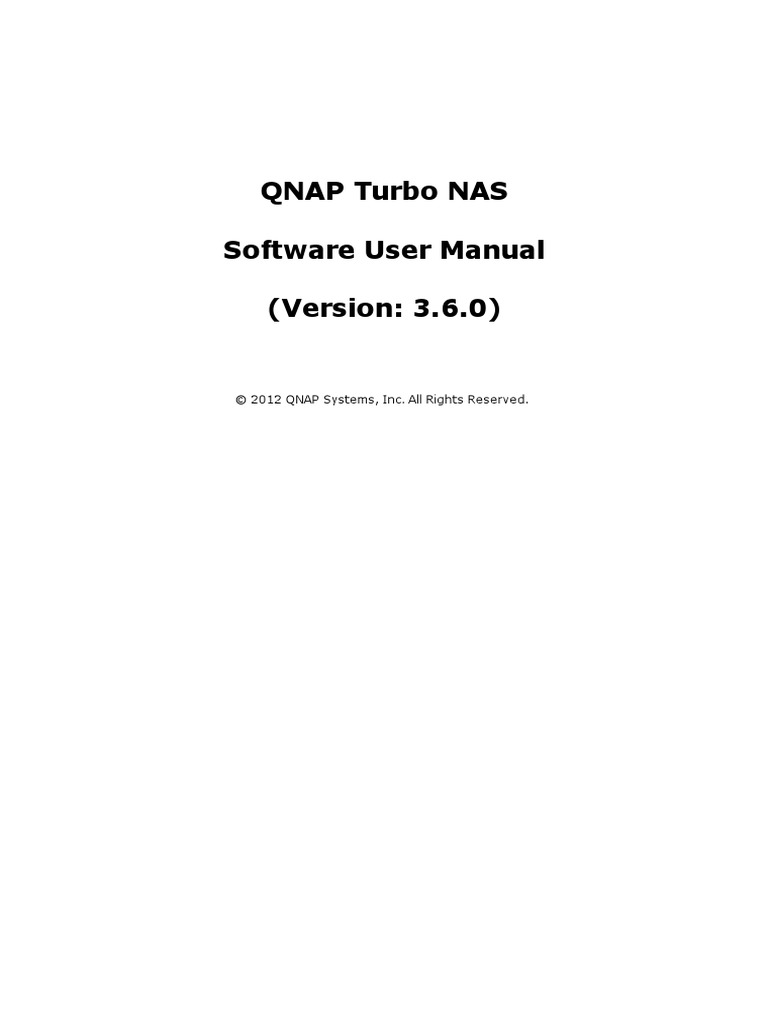 QNAP_Turbo_NAS_User_Manual_V3 6_ENG pdf | Ip Address | Computer Network