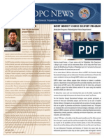 National Domestic Preparedness Consortium Newsletter - Spring 2015