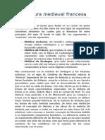 Literatura Medieval Francesa