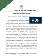 Princípios em Agricultura de Precisão (Mapeamento da variabilidade espacial)