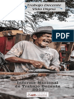 Informe de Trabajo Decente 2013
