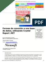 Colabora.net_ Formas de Conexión a Una Base de Datos, Utilizando Crystal Report