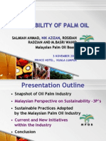 Lecture 8-Sustainability of Palm Oil
