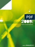 EXPO'98 - Relatorio Sustentabilidade 2009