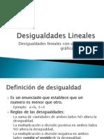 Clase 4 Desigualdades Lineales
