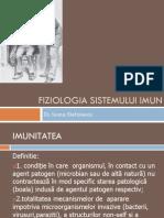 Fiziologia Sistemului Imun Suport