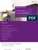 Licensing Expert Series Microsoft Volume Licensing Program Fundamentals 11 2013 Final